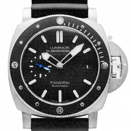 Luminor Submersible Amagnetic Automatic Black Dial 47 mm Men's Watch