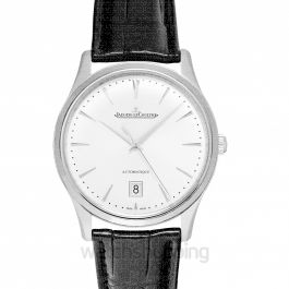 Master Ultra Thin Date Automatic Silver Dial Men's Watch