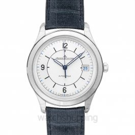 Master Control Date Silver Steel/Leather 39mm