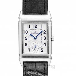 Reverso Classic Medium Small Seconds Manual-winding Silver Dial Men's Watch
