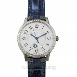 Rendez-Vous Night & Day Medium Automatic Silver Dial Diamonds Ladies Watch