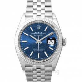 Datejust 36 Stainless Steel Automatic Blue Dial Unisex Watch