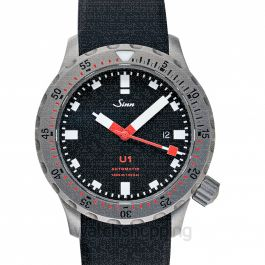 SINN Diving Watches 1010.010-Silicone-FC-BLK