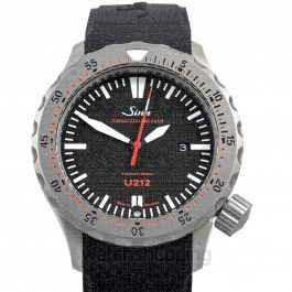 SINN Diving Watches 212.040-Silicone-LFC-Blk
