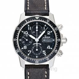 SINN Instrument Chronographs 103.061-Leather-CIVS-DB-CSW
