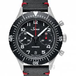 SINN Instrument Chronographs 158.010-Leather.VBLK