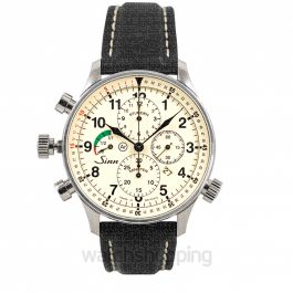 SINN Instrument Chronographs 917.010-Leather-Cowhide-Blk-CSW