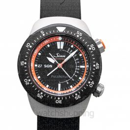 SINN Instrument Watches 112.010-Silicone-LFC-Blk