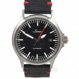 SINN Instrument Watches 556.0106-Leather-CIVS-Blk-DSR