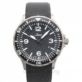 SINN Instrument Watches 857.012-Silicone-FC-BLK