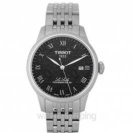 T-Classic Automatic Black Dial Men's Watch