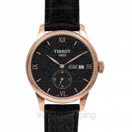 T-Classic Le Locle Automatic Petite Seconde Automatic Black Dial Men's Watch