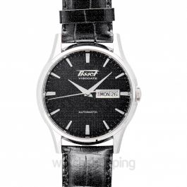 Heritage Visodate Automatic Black Dial Men's Watch