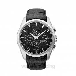T-Classic Couturier Automatic Chronograph Black Dial Men's Watch