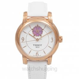 T-Lady Automatic White Dial Women's Watch