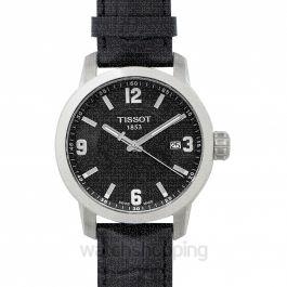 T-Sport PRC 200 Quartz Black Dial Men's Watch