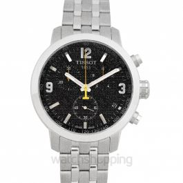 T-Sport Quartz Black Dial Men's Watch