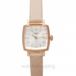 T-Lady Lovely Square Quartz Silver Dial Ladies Watch
