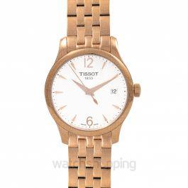 T-Classic Tradition Lady Quartz White Dial Ladies Watch