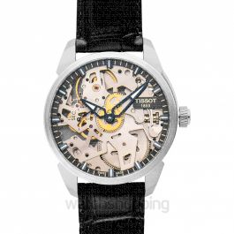 T-Classic T-complication Squelette Mechanical Manual-winding Skeleton Dial Men's Watch