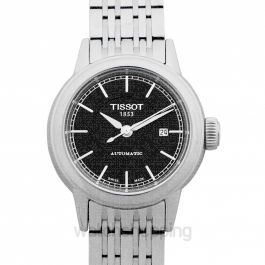 T-Classic Carson Automatic Black Dial Ladies Watch