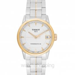 T-Classic Luxury Powermatic 80 Automatic Ivory Dial Ladies Watch