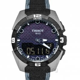Touch Collection Quartz Black Dial Men's Watch