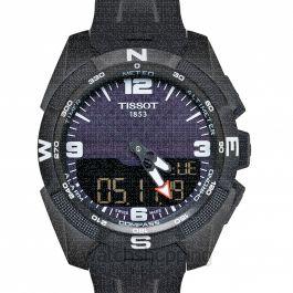 Touch Collection Quartz Black Dial Men's Watch