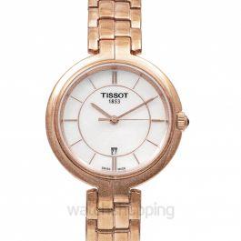 T-Lady Flamingo Quartz Mother Of Pearl Dial Ladies Watch