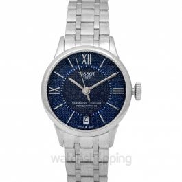 T-Classic Automatic Blue Dial Women's Watch