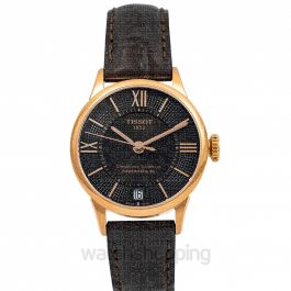 T-Classic Automatic Bronze Dial Women's Watch
