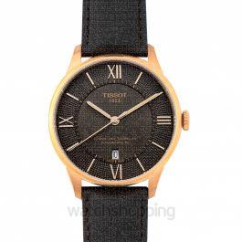 T-Classic Automatic Bronze Dial Men's Watch