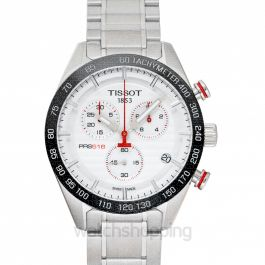 T-Sport Quartz Silver Dial Men's Watch