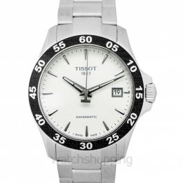 T-Sport Automatic Silver Dial Men's Watch