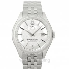 T-Classic Ballade Powermatic 80 Cosc Automatic Silver Dial Men's Watch