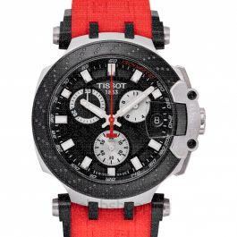 T-Sport Quartz Black Dial Men's Watch