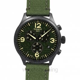 T-Sport Chrono XL Green Dial Men's Watch