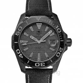 Aquaracer Automatic Black Dial Men's Watch