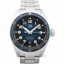 Autavia Automatic Blue Dial Men's Watch