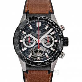 Carrera Automatic Skeleton Dial Men's Watch