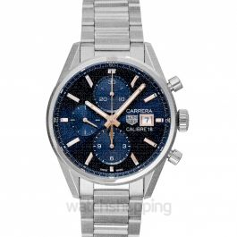 Carrera Automatic Blue Dial Men's Watch