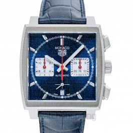Monaco Automatic Blue Dial Men's Watch