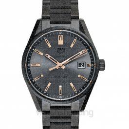 Carrera Quartz Black Dial Ladies Watch