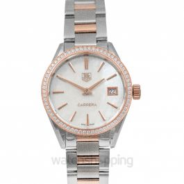 Carrera Ladies Quartz Mother Of Pearl Dial Ladies Watch