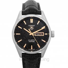 Carrera Automatic Black Dial Women's Watch
