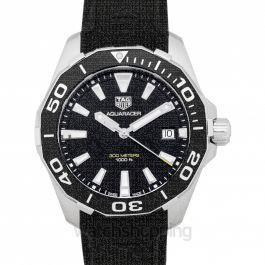 Aquaracer Quartz Black Dial Ladies Watch
