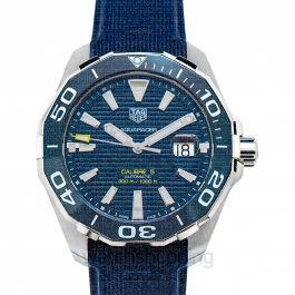 Aquaracer Calibre 5 Automatic Blue Dial Men's Watch