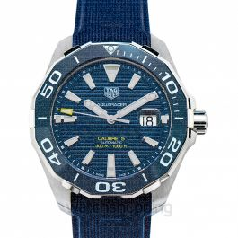 Aquaracer Calibre 5 Automatic Blue Dial Men's Watch