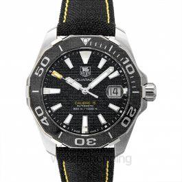 Aquaracer Calibre 5 Automatic Black Dial Men's Watch
