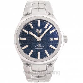 Link Automatic Blue Dial Men's Watch